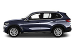 Car driver side profile view of a 2019 BMW X5 x Line 5 Door SUV