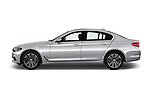 Car driver side profile view of a 2018 BMW 5 Series 530i 2WD 4 Door Sedan