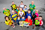 Pictured at the launch of the Road Safety poster campaign in Tralee on Monday night last were cycling club members, front l-r: Kathleen Ladden (Slieve Mish Cycling Club), Bernie Kennelly (Kerry Crusaders), Jack O'Connor (Kingdom Cycling Club), Pete Landy Lee Strand) and Brian Sheahan (Mid Kerry Cruisers).  Middle l-r: Kevin O'Sullivan (Kenmare,) John Murray (Chain Gang), Donie Kelliher (Slieve Luachra Cycling Club) and Brendan Cassidy (Killarney). Back l-r: Dan Ahern (Killorglin), Kieran Fleming (Currow), Bobs Barry (Crotta Leisure Cyclists), Brendan O'Sullivan (Mike Murphy Memorial Cycling Club), George Doyle (Tralee Manor West Cyling Club) and Johnny Joy (Finuge Freewheelers Cycling Club).
