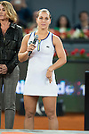 Slovakian Dominika Cibulkova during Mutua Madrid Open Tennis 2016 in Madrid, May 07, 2016. (ALTERPHOTOS/BorjaB.Hojas)