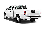 Car pictures of rear three quarter view of 2018 Nissan Frontier S-King-Cab 4 Door Pickup Angular Rear