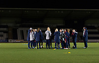 Glasgow, Scotland - November 12, 2018:  The USWNT trains in preparation for an international friendly against Scotland at St Mirren Park.