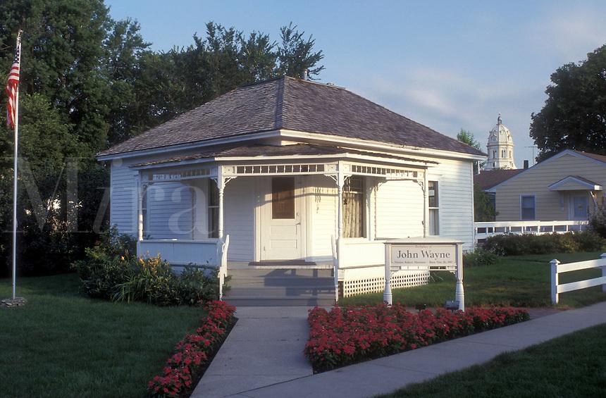 Iowa, Winterset, John Wayne Birthplace in Winterset, Madison County.