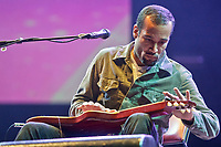 Ben Harper performs at the 44th Festival d'ete de Quebec on the Plains of Abraham in Quebec city Friday July 8, 2011. The Festival d'ete de Quebec is Canada's largest music festival with more than 1000 artists and close to 400 shows over 11 days.