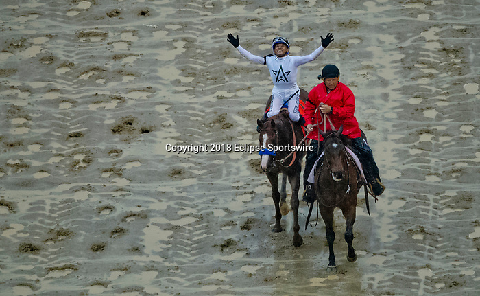 LOUISVILLE, KY - MAY 05: during the 144th Kentucky Derby at Churchill Downs on May 5, 2018 in Louisville, Kentucky. (Photo by John Vorhees/Eclipse Sportswire/Getty Images)