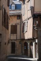 Europe/Europe/France/Midi-Pyrénées/46/Lot/Saint-Céré: vieilles maisons rue Saint-Cyr