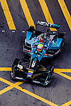 Oliver Turvey of Nextev Nio team during the first stop of the FIA Formula E Championship HKT Hong Kong ePrix at the Central Harbourfront Circuit on 9 October 2016, in Hong Kong, China. Photo by Marcio Rodrigo Machado / Power Sport Images