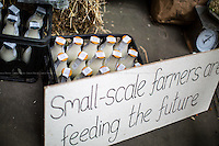 """17.04.2014 - """"Feeding the Future"""" - Demo at DEFRA"""
