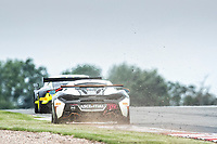 Nick Halstead & Jamie Stanley, McLaren 570S GT4, Fox Motorsport get a little wide out of the Esses during the British GT & F3 Championship on 10th July 2021