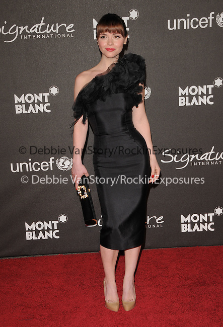 Christina Ricci at The Montblanc Signature for Good Charity Gala benefiting Unicef held at Paramount Studios in Hollywood, California on February 20,2009                                                                     Copyright 2008 Debbie VanStory/RockinExposures
