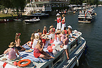 A girls day out. Henley Royal Regatta, Henley on Thames, Oxfordshire, England.