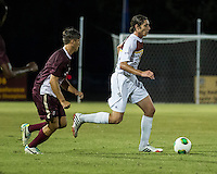 The Winthrop University Eagles played the College of Charleston Cougars at Eagles Field in Rock Hill, SC.  College of Charleston broke the 1-1 tie with a goal in the 88th minute to win 2-1.  Adam Brundle (12), Daan Brinkman (4)