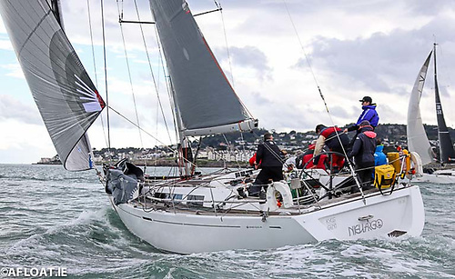 The winner of the Fastnet 450 Race was Royal Cork yacht Nieulargo (Denis and Annamarie Murphy Photo: Afloat