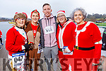 Eileen Scanlon, Breda Quirke, Vincent and Trish Horan and Denise Kennedy at the Fiona Moore Memorial 5k Fun Run in the Tralee Bay Wetlands on Sunday morning,