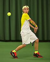 Rotterdam, The Netherlands, March 11, 2016,  TV Victoria, , NOJK 12/16 years,   Bjorn Schoemaker<br /> Photo: Tennisimages/Henk Koster