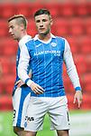 St Johnstone FC Season 2017-18<br />Michael O'Halloran<br />Picture by Graeme Hart.<br />Copyright Perthshire Picture Agency<br />Tel: 01738 623350  Mobile: 07990 594431