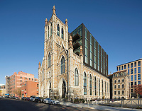 The Lucas, Shawmut Ave., Boston, MA (Feingold & Alexander architect) originally a German church