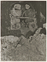 BNPS.co.uk (01202 558833)<br /> Pic: IronCrossMagazine/BNPS<br /> <br /> Pictured: One of the tunnels dug by the British POWs.<br /> <br /> The comical escape attempts made by British officers from a German prisoner of war camp called Castle Tittmoning have been revealed 80 years later.<br /> <br /> The desperate efforts to break out of the little known but rude sounding camp included three men who hid inside a cramped fireplace for eight days before being found by guards covered in soot.<br /> <br /> Other officers hid under piles of rubbish on a horse-drawn cart and allowed themselves to be driven out of the fortress before they were discovered.<br /> <br /> The men expertly made German uniforms out of blankets and brazenly walked out of the camp disguised as guards before being rumbled.