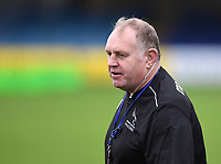 21st November 2020; Recreation Ground, Bath, Somerset, England; English Premiership Rugby, Bath versus Newcastle Falcons; Dean Richards Director of Rugby for Newcastle Falcons before kick off