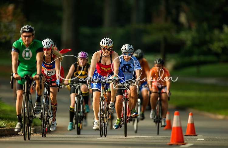 """Approximately 1,200 bicycle riders raised more than $1 million when they rode 24 hours straight during the 2015 """"24 Hours of Booty"""" Charlotte event in July 2015. The annual event, held in Charlotte's Myers Park neighborhood, raises money for cancer research.<br /> <br /> Charlotte Photographer - PatrickSchneiderPhoto.com"""
