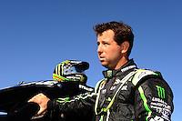 Dec. 9, 2011; Chandler, AZ, USA;  LOORRS pro 4 unlimited driver Jeremy McGrath during qualifying for round 15 at Firebird International Raceway. Mandatory Credit: Mark J. Rebilas-
