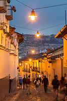 Calle la ronda Quito, Ecuador, South America