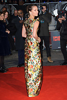 "Alicia Vikander<br /> arriving for the ""Tomb Raider"" premiere at the Vue Leicester Square, London<br /> <br /> ©Ash Knotek  D3385  0/03/2018"