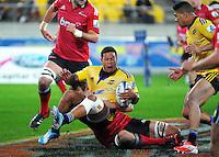 140628 Super Rugby - Hurricanes v Crusaders