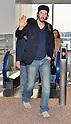 Keanu Reeves arrives in Japan