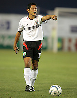4 June 2005:  Christian Gomez of DC United in action against Earthquakes at Spartan Stadium in San Jose, California.  Earthquakes tied DC United, 0-0.  Credit: Michael Pimentel / ISI