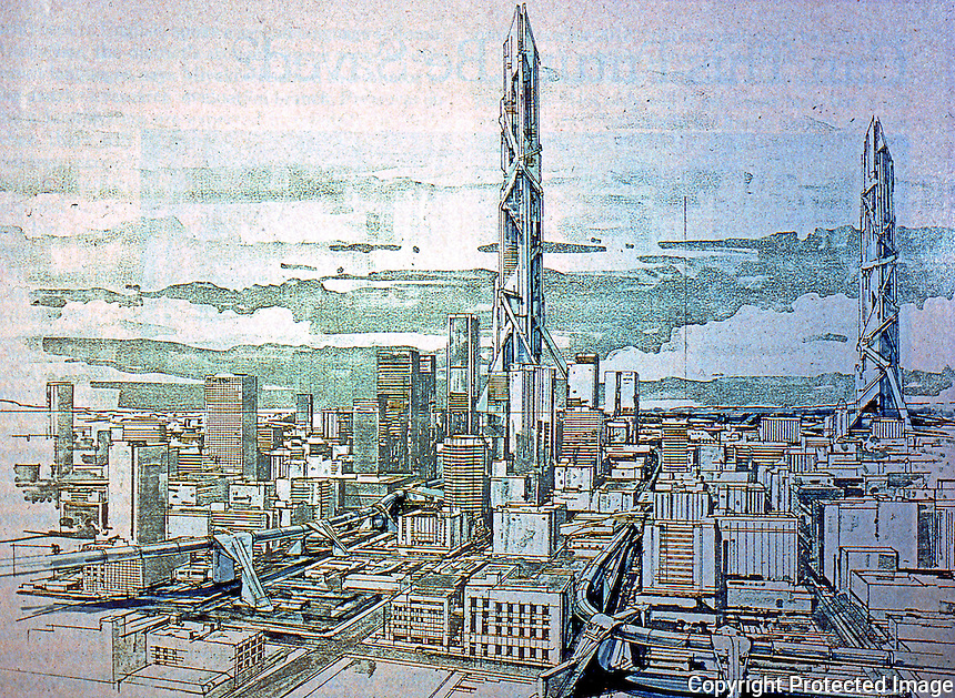 Los Angeles: In 2013, Syd Mead. (L. A. Times Magazine, 1988)