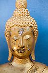 Buddha-Statue in Tempelanlage Big Buddha, Po Phut, Kho Samui, Provinz Surat Thani, Thailand, Asien