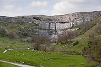 Malham Cove, North Yorkshire. Yorkshire Dales National Park. Limestone.