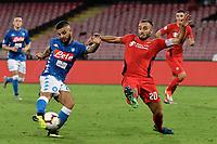 Gol Lorenzo Insigne Napoli Goal celebration 1-0 <br /> Napoli 15-09-2018 Stadio San Paolo Football Calcio Serie A 2018/2019 Napoli - Fiorentina <br /> Foto Andrea Staccioli / Insidefoto