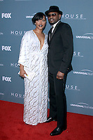 Keisha Spivey and Omar Epps at Fox's 'House' series finale wrap party at Cicada on April 20, 2012 in Los Angeles, California. ©mpi21/MediaPunch Inc.