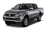 2017 Fiat Fullback Pack-Lusso 4 Door Pickup Angular Front stock photos of front three quarter view