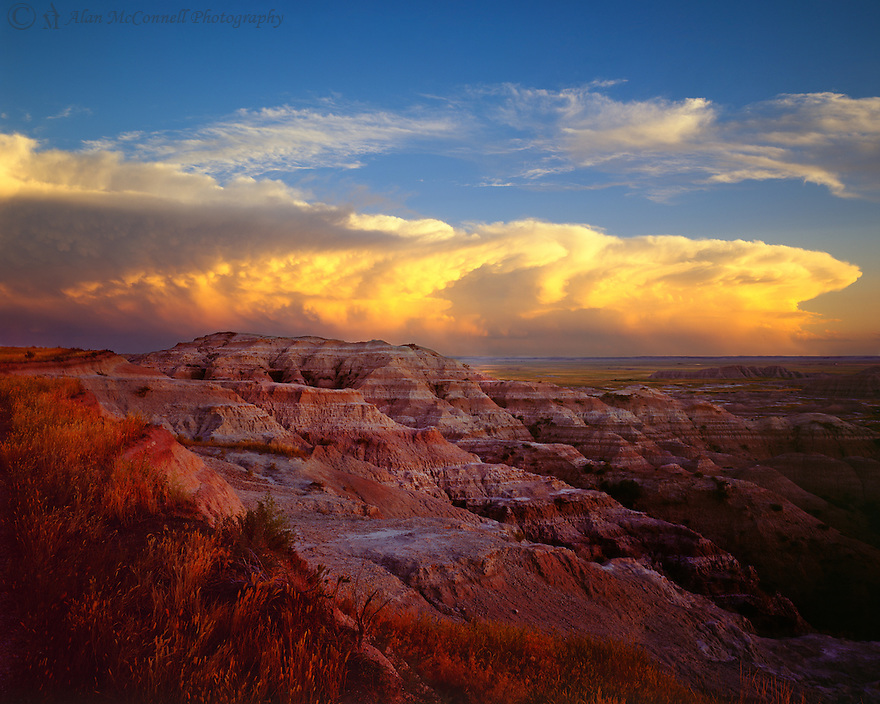 """ Storm Over the Badlands""<br />