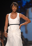 Supermodel Naomi Campbell walks the runway at the Sephora Fashion Week Live event outside The Galleria Thursday March 8,2007.(Dave Rossman/For the Chronicle)