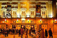 Teatro Espanol, Plaza Santa Ana, Madrid, Spain