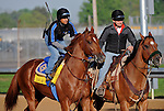 29 April 10:  Line of David works out at Churchill Downs in Louisville, Kentucky