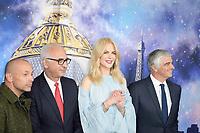 Paolo CESARE, Nicole KIDMAN, Antonio BELLONI - Lancement des illuminations de noel au Printemps Haussmann - 7 novembre 2017 - Paris - France # NICOLE KIDMAN INAUGURE LES VITRINES DE NOEL DU PRINTEMPS