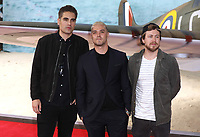 """Busted<br /> at the """"Dunkirk"""" World Premiere at Odeon Leicester Square, London. <br /> <br /> <br /> ©Ash Knotek  D3289  13/07/2017"""