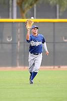 Joc Pederson - Los Angeles Dodgers - 2010 Instructional League.Photo by:  Bill Mitchell/Four Seam Images..