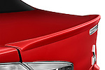 Rear lip spoiler on a 2012 Mitsubishi Lancer GT Touring