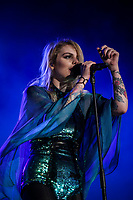 Coeur de Pirate performs at the Festival d'ete de Quebec in Quebec city Sunday July 10, 2016.