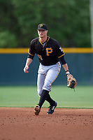 Pittsburgh Pirates Erich Weiss (45) during a minor league Spring Training intrasquad game on April 3, 2016 at Pirate City in Bradenton, Florida.  (Mike Janes/Four Seam Images)
