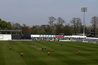 General view of play during Glamorgan vs Essex Eagles, Royal London One-Day Cup Cricket at the Sophia Gardens Cardiff on 17th April 2019
