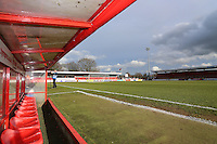 General view of the ground during Stevenage vs Grimsby Town, Sky Bet EFL League 2 Football at the Lamex Stadium on 28th January 2017