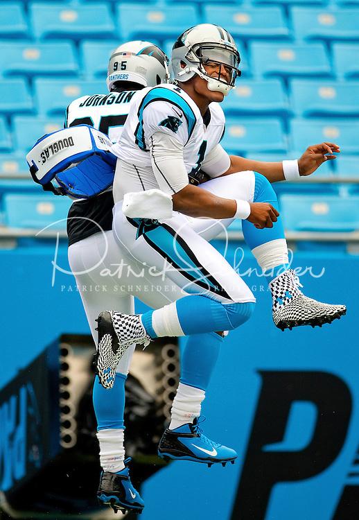 The Carolina Panthers vs. theNew Orleans Saints at Bank of America Stadium in Charlotte, North Carolina.Photos by: Patrick Schneider Photo.com