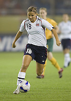 Norway midfielder (18) Marie Knutsen. Norway tied Australia 1-1 in their FIFA Women's World Cup China 2007 Group C opening round match at Hangzhou Dragon Stadium in Hangzhou, China on September 15, 2007.